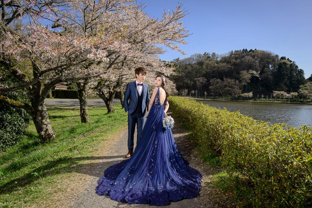 婚攝小勇,小寶團隊, Niniko, 自助婚紗, 海外婚紗,河口湖,櫻花,富士山-017