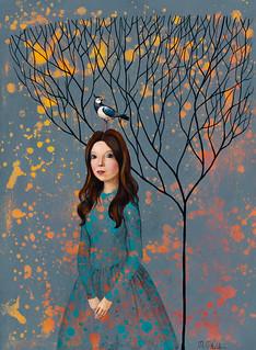 Herbst Grau