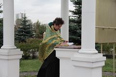 Молебен в части МЧС