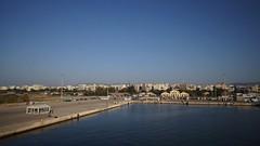 Dimineata in portul Alexandroupulos
