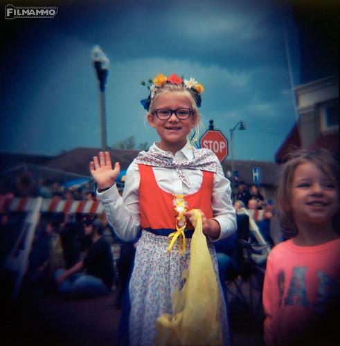 Hyllningsfest Parade