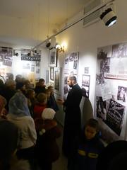 Ученики воскресной школы Троицкого храма деревни Павлино посетили выставку