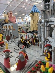 Brisbricks train layout, Brisbane Model Train Show, May 2017