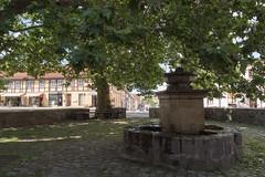 Templin: Brunnen am Prenzlauer Tor - Fountain next to the Prenzlau Gate