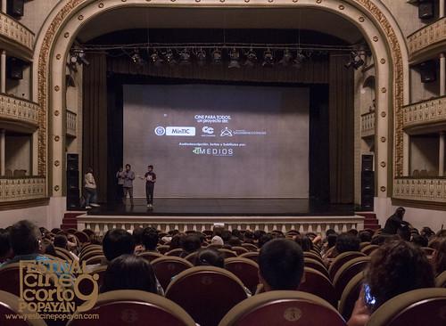 Cine para todos. Proyección Mateo (7)