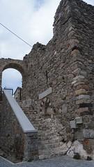 Intrarea in cetatea Chora