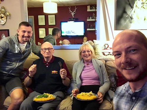 Today is all about...chippy Tuesday (on a Wednesday) with the in-laws