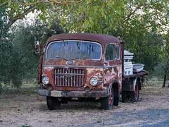 An old truck in Tuscany