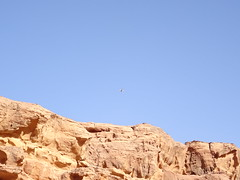 Drone in Wadi Musa, Jordan