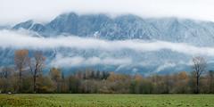 Mt Si wearing winter
