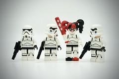 LEGO Stormtrooper Harley Quinn