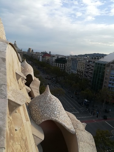 """Casa Milà Gaudi Barcelona • <a style=""""font-size:0.8em;"""" href=""""http://www.flickr.com/photos/160223425@N04/38807672771/"""" target=""""_blank"""">View on Flickr</a>"""