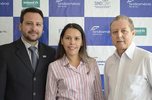Tiago Barcelos, Ismara Carla e José Maria Facundes - Foto Emmanuel Franco