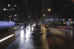 Saturday night on Park Avenue
