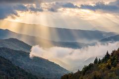 Oconaluftee Sun Rays