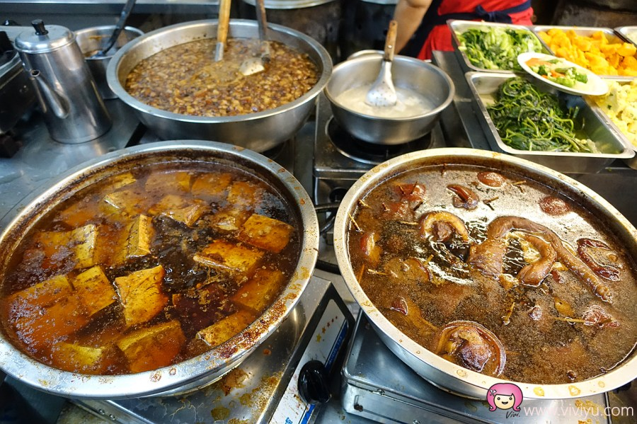 台中宵夜,台中小吃,台中美食,台南蘇虱目魚,爌肉飯,肉燥飯,銅板美食 @VIVIYU小世界