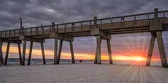 Pensacola Beach Evening Sunset