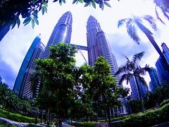 PETRONAS Twin Towers in Kuala Lumpur #malaysia