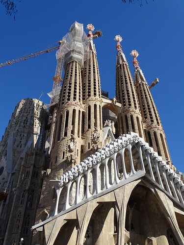 "Sagrada Família Gaudi Barcelona • <a style=""font-size:0.8em;"" href=""http://www.flickr.com/photos/160223425@N04/38778192702/"" target=""_blank"">View on Flickr</a>"