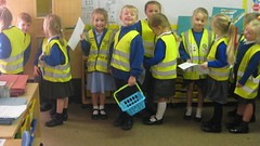 Red class Prepare to go Shopping