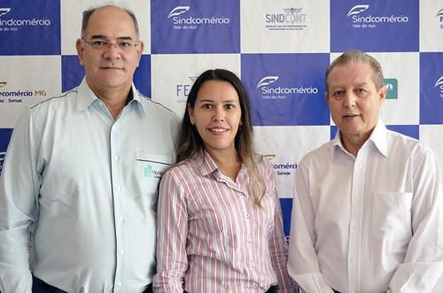 Celio Pavione, Ismara Carla e José Maria Facundes - Foto Emmanuel Franco