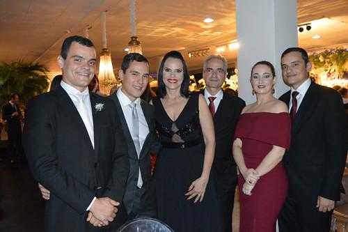 Vinícius Diniz, Dr. José Lucas Diniz, Luíza e Hercílio Diniz, Lorena e Hercílio Neto