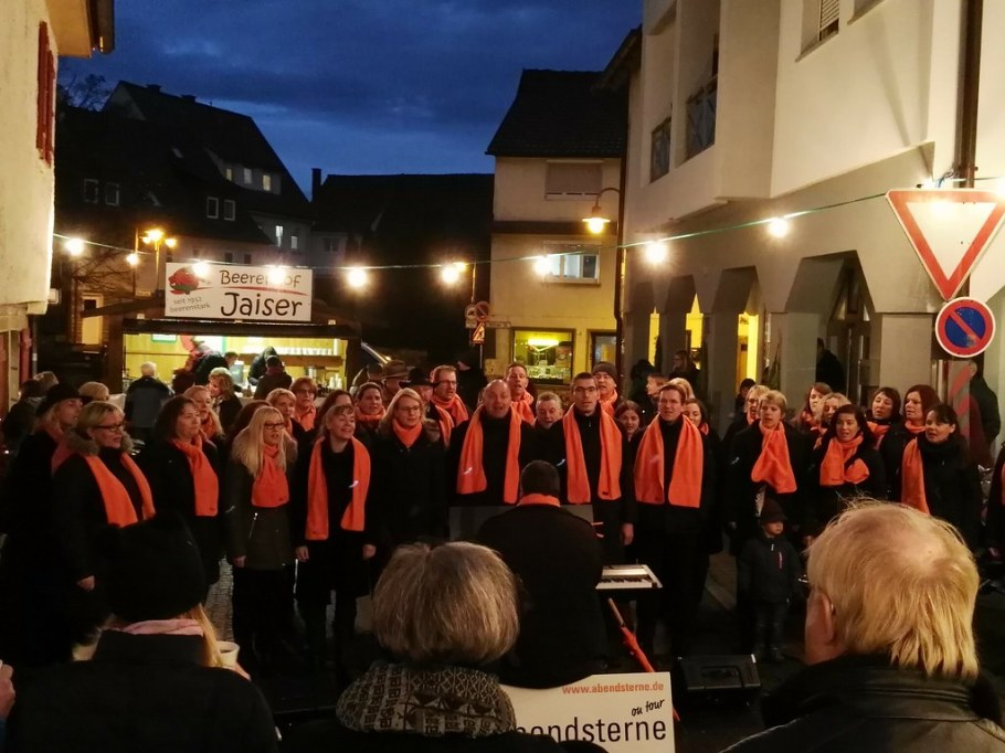 2017-11-25 Adventsmaerktle Bluete & mehr Freiberg, 25. November 2017