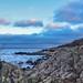 Rekreation - en tur längs havet med kamera