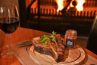 The Local Grill steak, Val du Charron, Western Cape