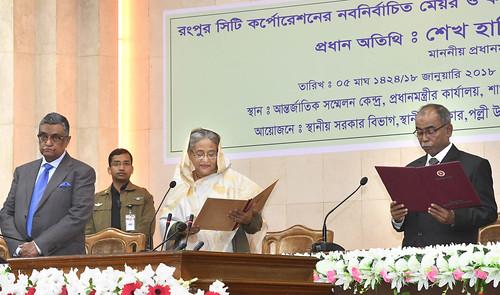 18-01-18-PM_Rangpur Mayor Oath-16