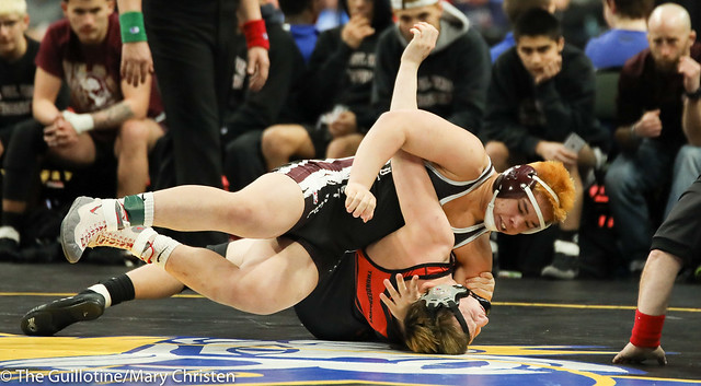 182 - Jose Rodgers-Valdez (South Saint Paul) over Deondre Hager (Grand Rapids) Fall 1:36. 180301CMC3722