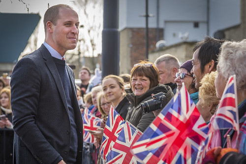 Royal visit to The Fire Station