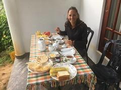 Frühstück in Ella
