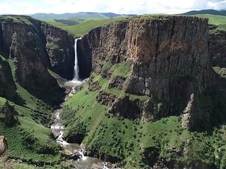 Maletsunyane Falls in Lesotho
