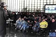 Chanoeka in the rain, Rotterdam