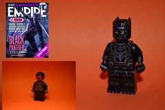 Black Panther. purple suit. v.1