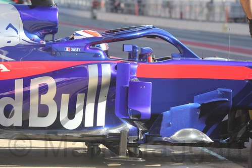 Pierre Gasly during Formula One Winter Testing 2018