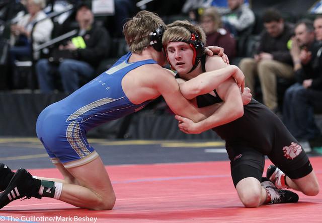 132A Quarterfinal - Nate Hart (Ottertail Central Bulldogs) 47-3 won by decision over Teddy Pesch (Minneota) 31-11 (Dec 3-2) - 180302cmk0028