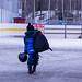 Heading for ice hockey