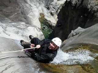 canyoning, Fleur Jaune, La Réunion