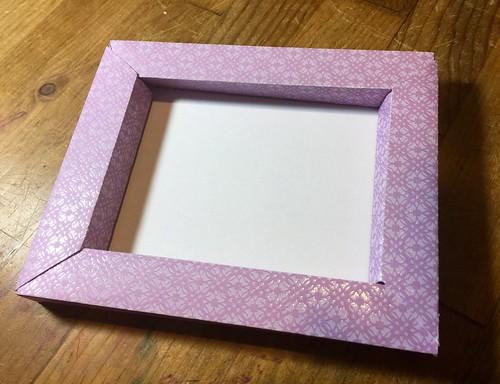 finished frame
