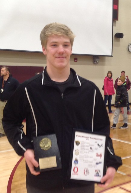 2017-2018 Park Region Conference Wrestler of the Year: Holt Truax, BHV/PP, 12th, 182 Pounds