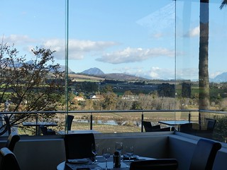 view from The Local Grill, Val du Charron, Western Cape
