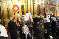 В Троицком храме совершено Таинство соборования