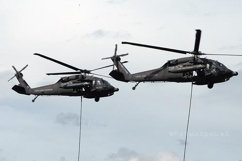 Fuerza Aerea Colombiana Sikorsky UH-60 Blackhawk