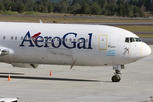 Aerogal Boeing 767-300 MDE
