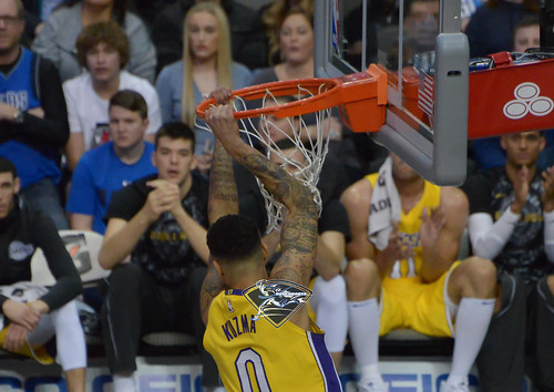 """Los Angeles Lakers vs Dallas Mavericks • <a style=""""font-size:0.8em;"""" href=""""http://www.flickr.com/photos/10266314@N06/27930845969/"""" target=""""_blank"""">View on Flickr</a>"""