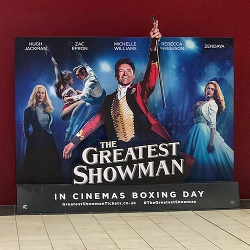 Today is all about...finally seeing The Greatest Showman