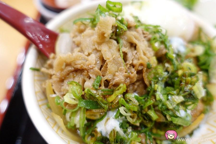 [桃園美食]すき家SukiYa.來自日本的便利餐點~桃園火車站前.快速簡單的牛丼飯 @VIVIYU小世界