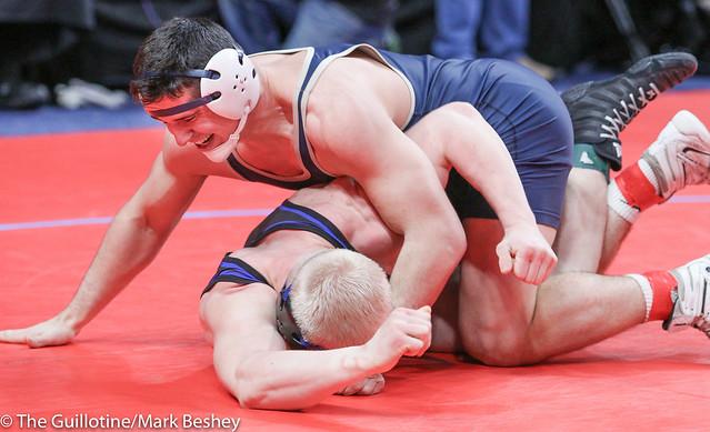 220A Semifinal - Will Storch (Wem-jwp) 42-1 won by decision over Kyle Schmidt (Walker-Hack-Akeley-Nevis) 38-10 (Dec 9-2) - 180303amk0094
